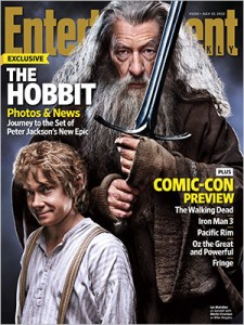 EW cover story on Hobbit/ComicCon
