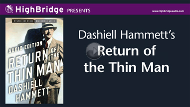 Return of the Thin Man - Audiobook Trailer
