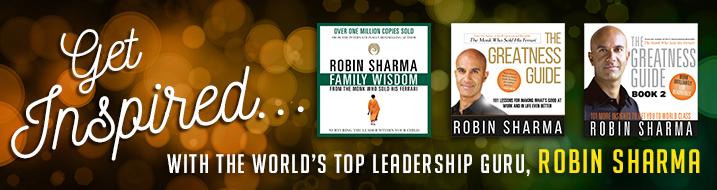 Robin Sharma audiobooks
